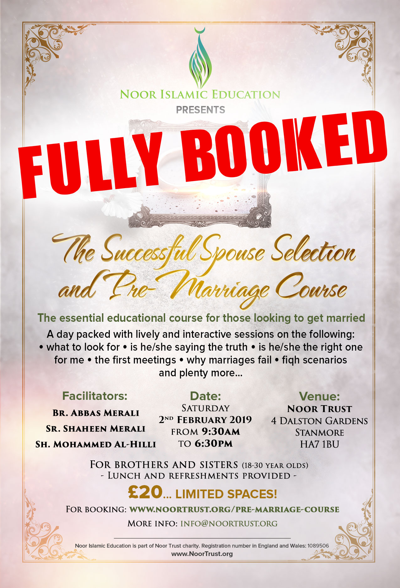 Pre-Marriage Course