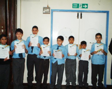 Noor Reading Club in al-Sadiq and al-Zahra Schools (2004)