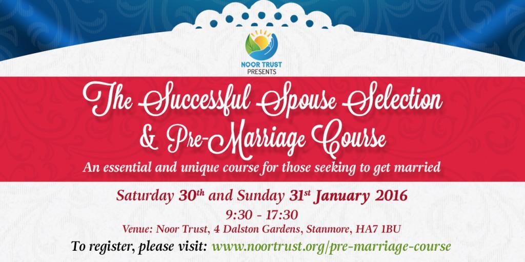 Pre-Marriage Course