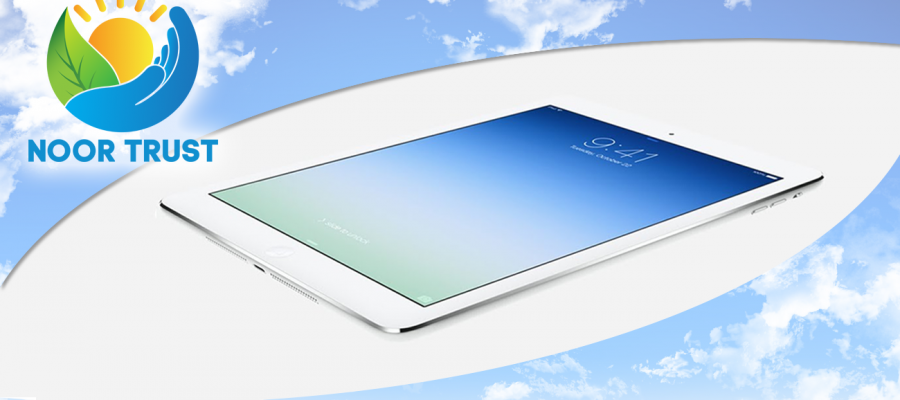 Sign up and win an iPad Air
